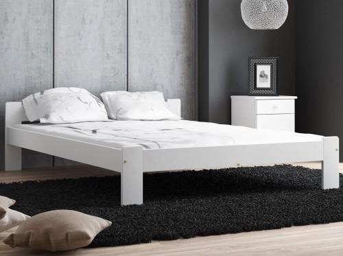 Białe łóżka łóżko Białe Drewniane Do Sypialni Meble Magnat