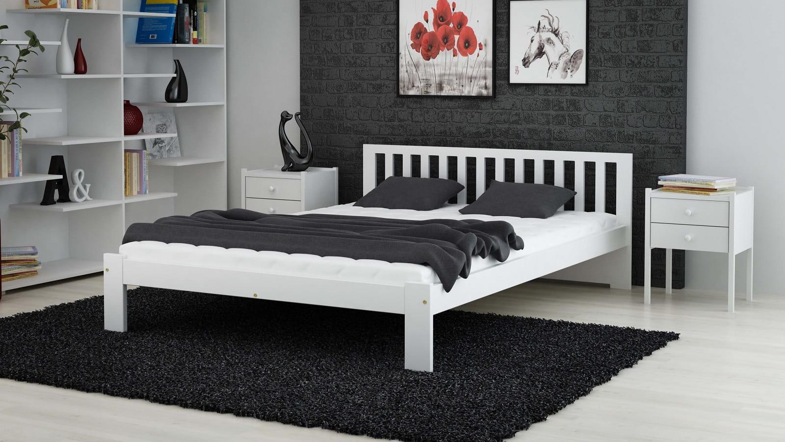 łóżko Dmd2 140x200 Białe