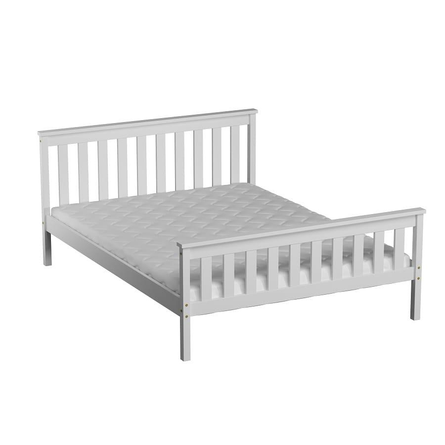 łóżko Alion 120x200 Białe