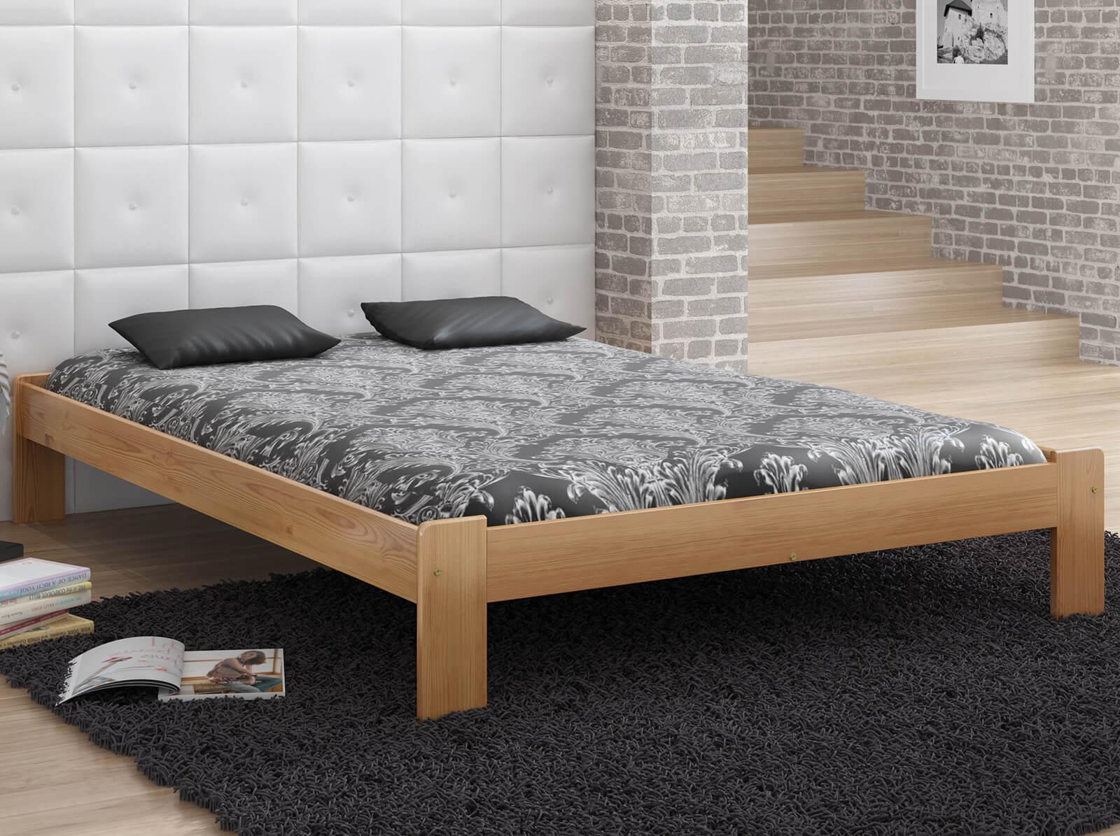 łóżko Ada 160x200 Z Materacem Kieszeniowym