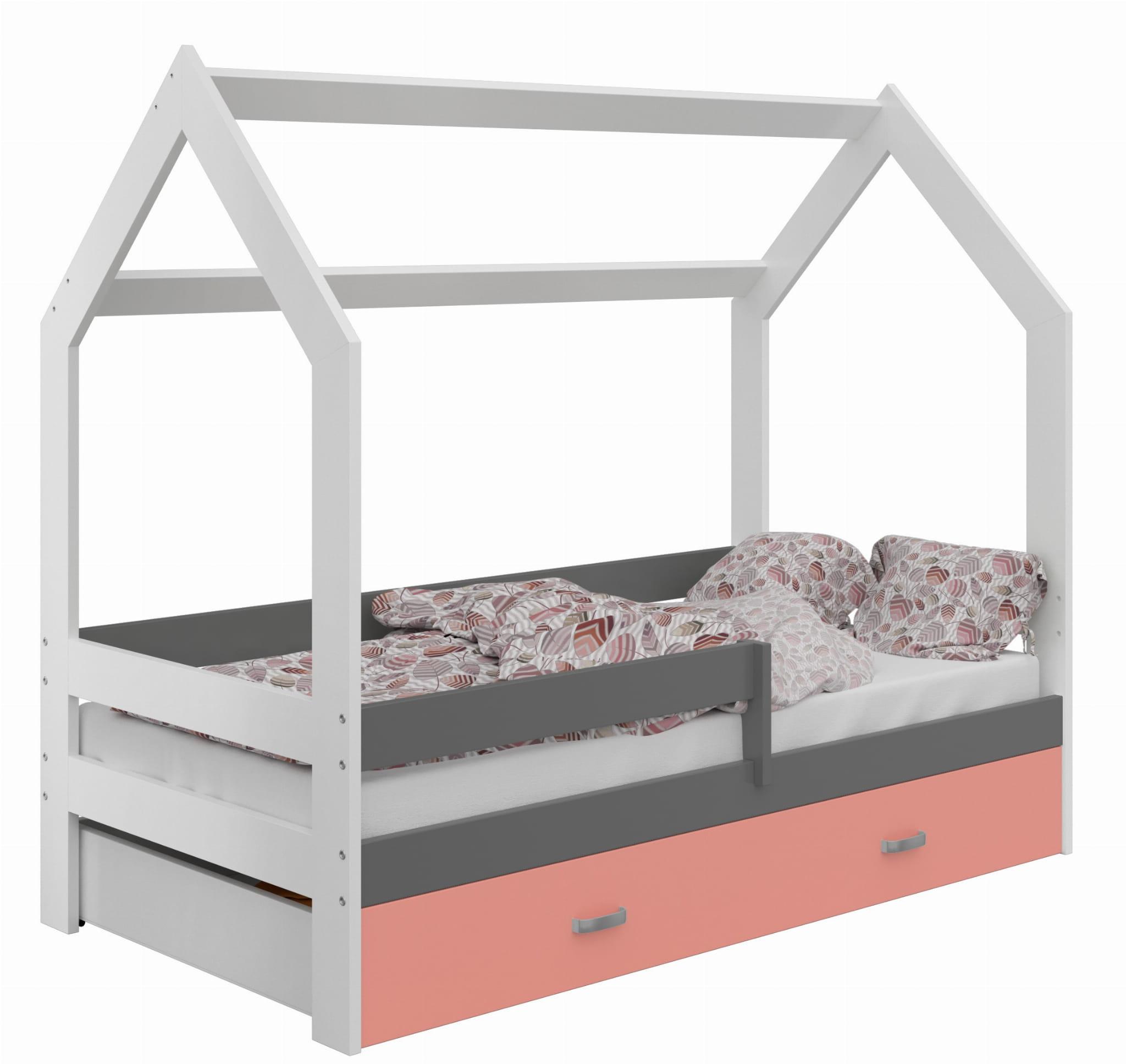 łóżko Domek Dziecięce 160x80 Dla Dzieci Białe D3 Cena Sklep Magnat